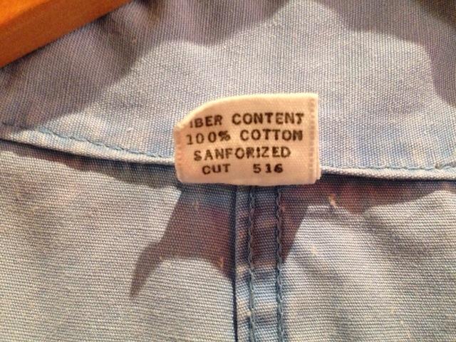 6月10日(水)大阪店夏物ヴィンテージ入荷!!#3 VintageWorkItem!!DeadStock&ChainStitch!!(大阪アメ村店)_c0078587_13335825.jpg