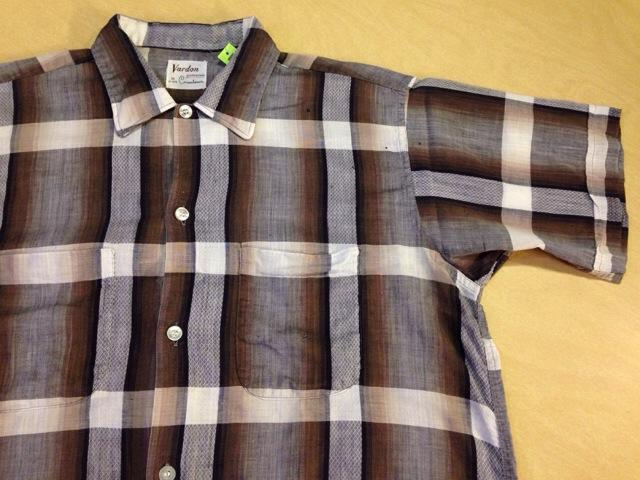 6月10日(水)大阪店夏物ヴィンテージ入荷!!#2 VintageShirt!!BorderCheckStripeSolid!!(大阪アメ村店)_c0078587_1342113.jpg