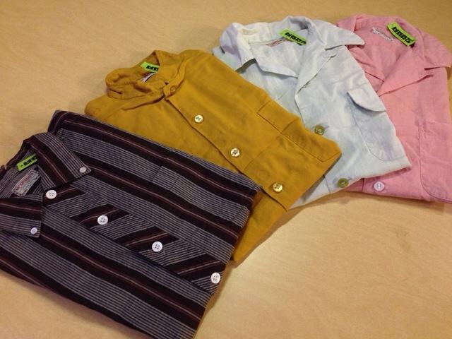 6月10日(水)大阪店夏物ヴィンテージ入荷!!#2 VintageShirt!!BorderCheckStripeSolid!!(大阪アメ村店)_c0078587_1345060.jpg