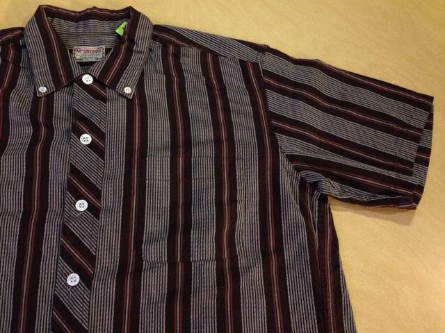 6月10日(水)大阪店夏物ヴィンテージ入荷!!#2 VintageShirt!!BorderCheckStripeSolid!!(大阪アメ村店)_c0078587_1351782.jpg