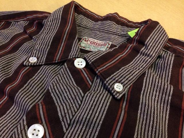 6月10日(水)大阪店夏物ヴィンテージ入荷!!#2 VintageShirt!!BorderCheckStripeSolid!!(大阪アメ村店)_c0078587_1352549.jpg