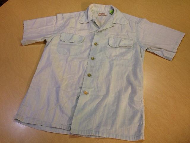 6月10日(水)大阪店夏物ヴィンテージ入荷!!#2 VintageShirt!!BorderCheckStripeSolid!!(大阪アメ村店)_c0078587_1365222.jpg