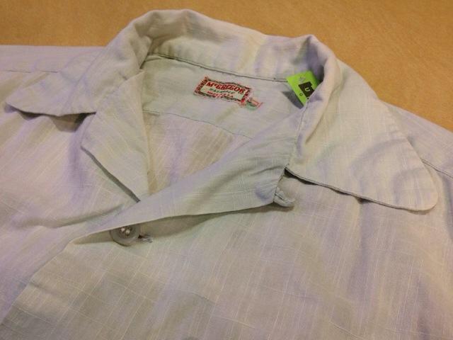 6月10日(水)大阪店夏物ヴィンテージ入荷!!#2 VintageShirt!!BorderCheckStripeSolid!!(大阪アメ村店)_c0078587_1371822.jpg