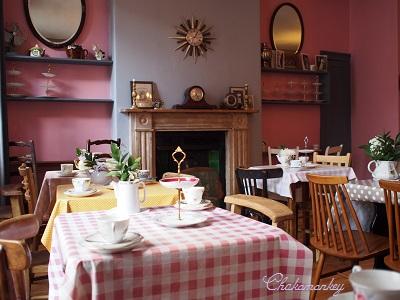 SOHO\'s Secret Tea RoomでCream Tea_f0238789_5585946.jpg