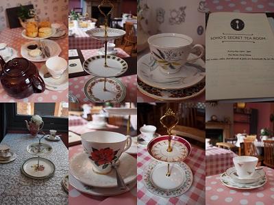SOHO\'s Secret Tea RoomでCream Tea_f0238789_644499.jpg