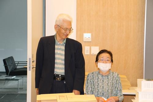 江辺純三(M32)先輩と藤倉嘉昭名誉教授(T32)が来訪_c0075701_15333415.jpg