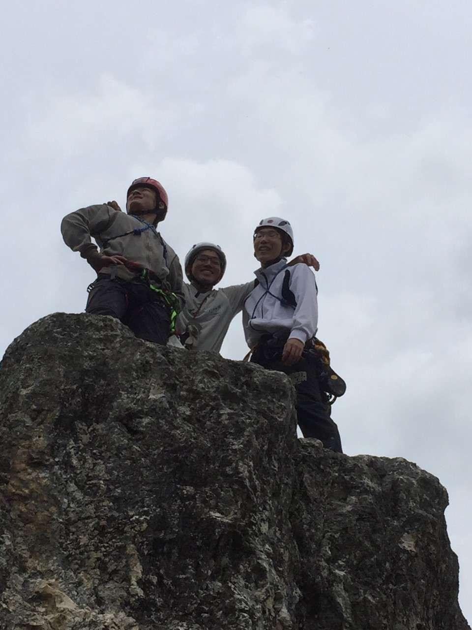 新人来る!学ぶ!登る!_d0237801_1251543.jpg