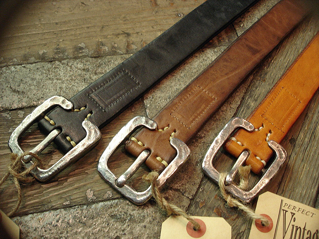 NEW : [Vintage Works] Special Hand Works [Leather Belt] !!_a0132147_2318574.jpg