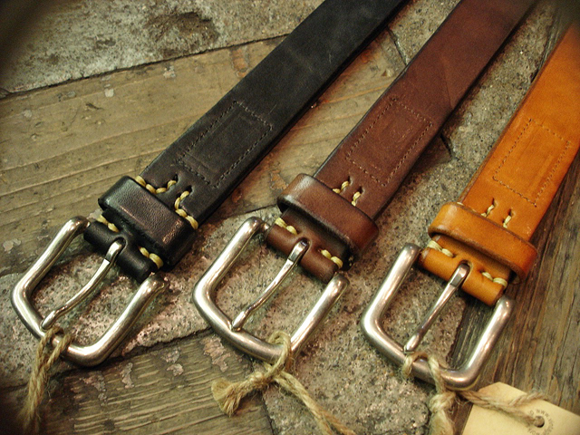 NEW : [Vintage Works] Special Hand Works [Leather Belt] !!_a0132147_23192539.jpg