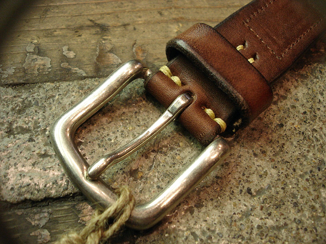 NEW : [Vintage Works] Special Hand Works [Leather Belt] !!_a0132147_23193218.jpg
