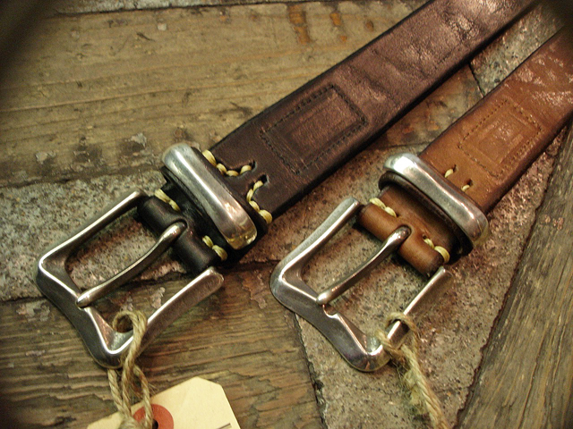 NEW : [Vintage Works] Special Hand Works [Leather Belt] !!_a0132147_23194158.jpg