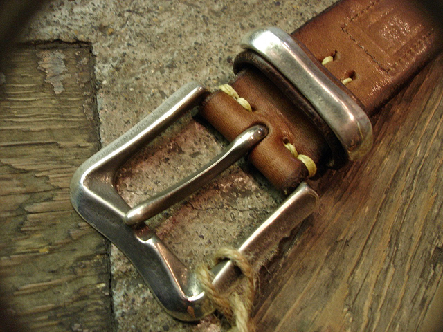 NEW : [Vintage Works] Special Hand Works [Leather Belt] !!_a0132147_23195384.jpg