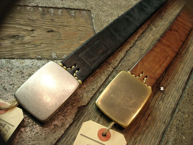NEW : [Vintage Works] Special Hand Works [Leather Belt] !!_a0132147_23201038.jpg