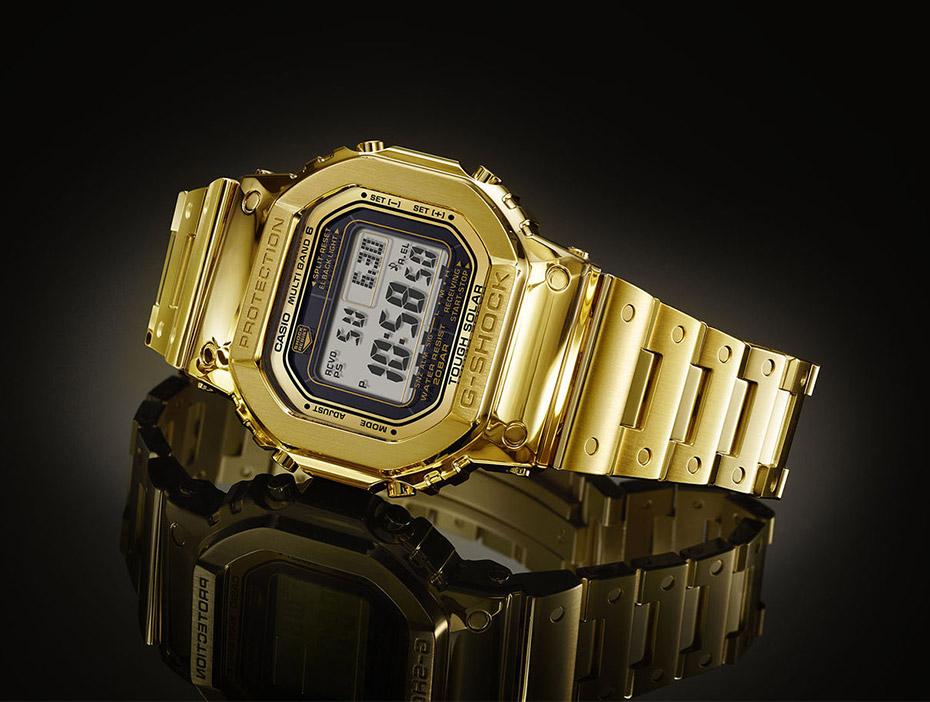 G-SHOCK金無垢ワンオフ・モデルがISHIDA表参道に世界初展示で!_f0039351_21135810.jpg