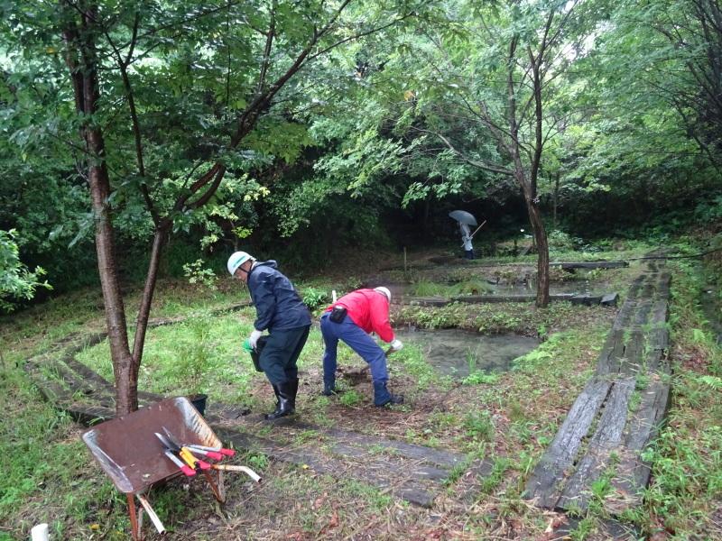 淡輪長生会来訪雨で中止 in うみべの森_c0108460_21424007.jpg