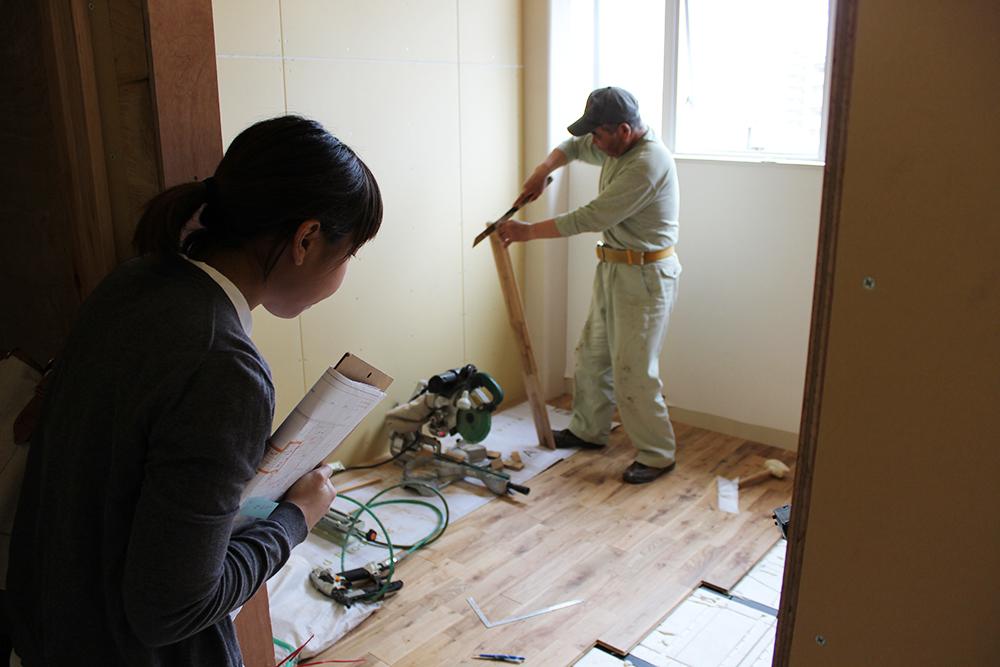 改装中の新社屋_b0067774_1815457.jpg