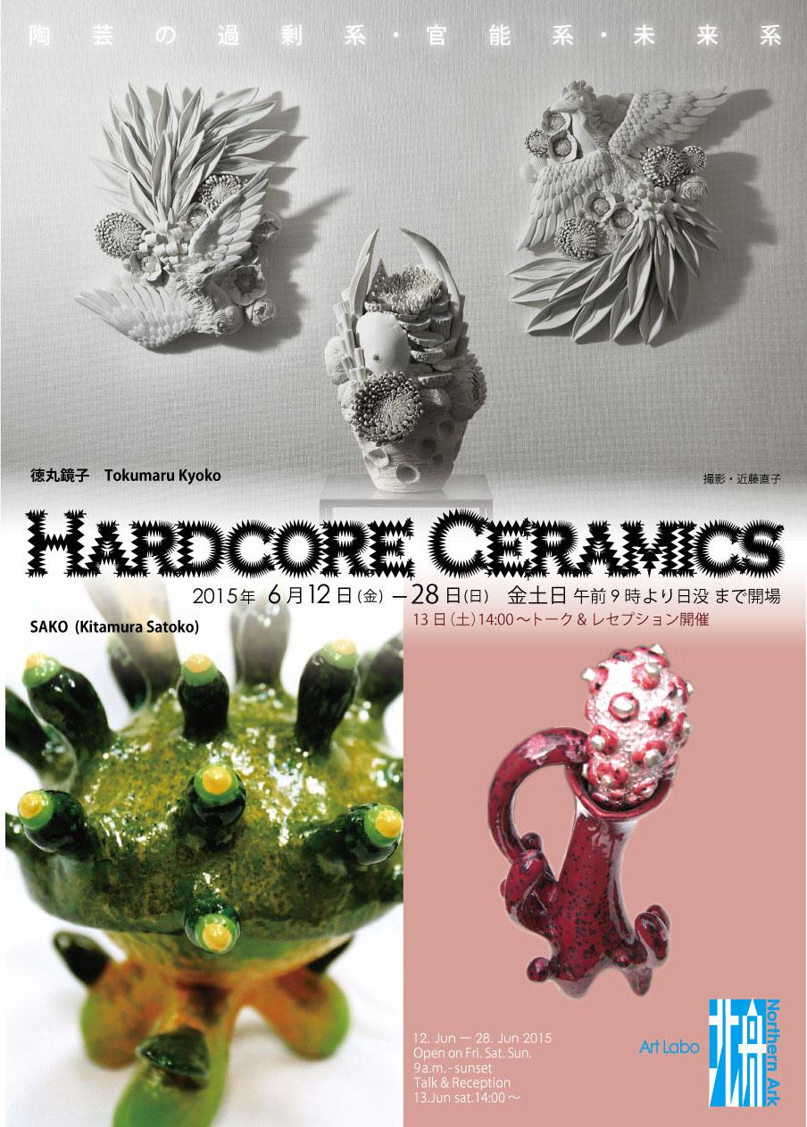 Hardcore Ceramics   Sako+徳丸鏡子展_f0185280_1218773.jpg