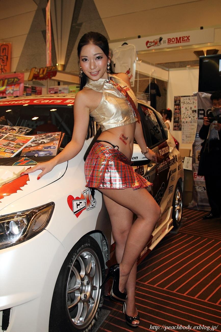 三田羽衣 さん(Car☆Xs × BOMEX ブース)_c0215885_20415531.jpg