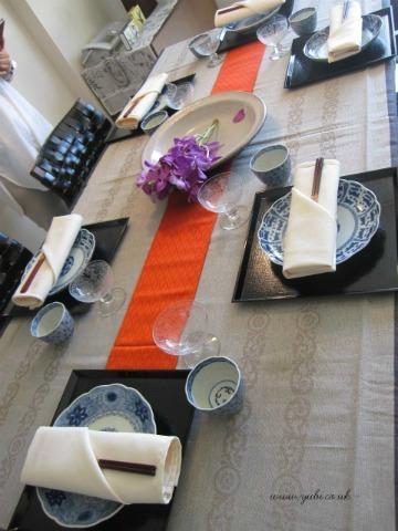 日本での出張テーブルコーディネートレッスン 1_b0313387_23051011.jpg