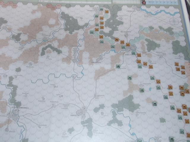 CHS/CMJ「コルスンの戦い」ソロプレイ(2戦目)①_b0162202_1742267.jpg