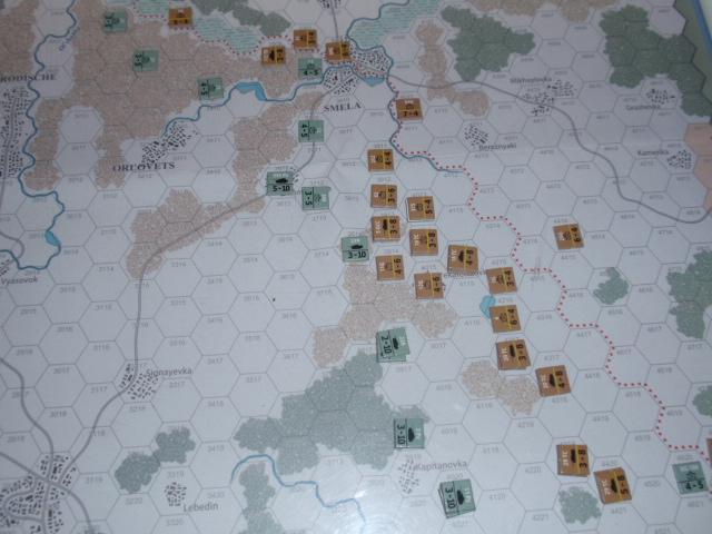 CHS/CMJ「コルスンの戦い」ソロプレイ(2戦目)①_b0162202_17423224.jpg