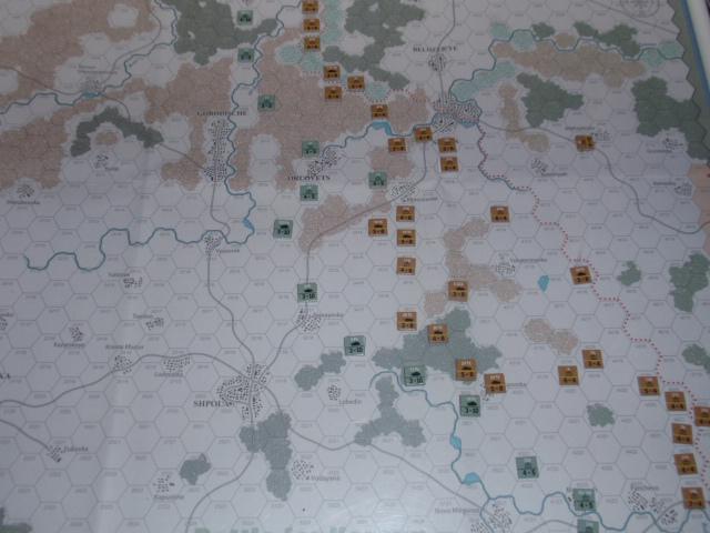 CHS/CMJ「コルスンの戦い」ソロプレイ(2戦目)①_b0162202_17424739.jpg