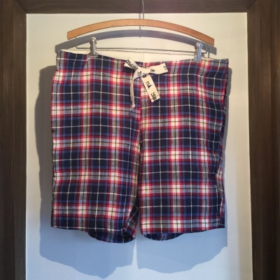 Yarmo Shortpants Linen Check_e0248492_20171571.jpg