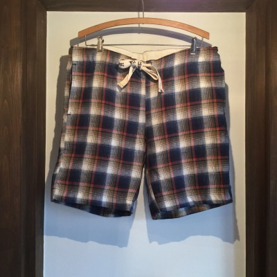 Yarmo Shortpants Linen Check_e0248492_20173887.jpg