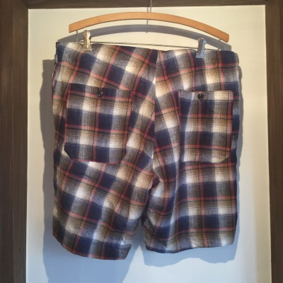 Yarmo Shortpants Linen Check_e0248492_20192766.jpg