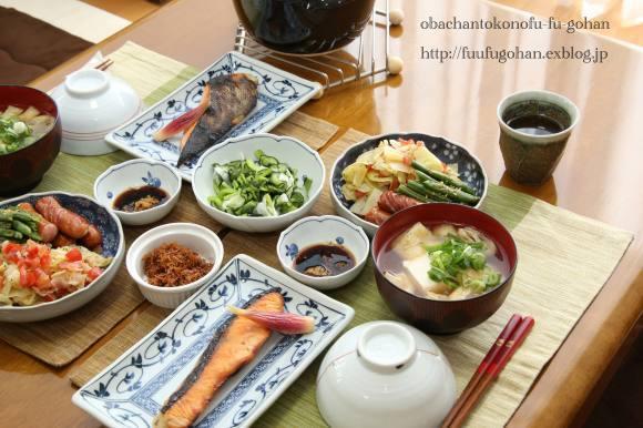 休日のブランチは、和食屋さん&オムライスディナー_c0326245_11521637.jpg