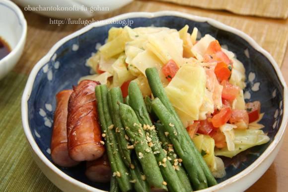 休日のブランチは、和食屋さん&オムライスディナー_c0326245_11524867.jpg