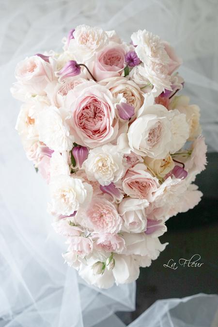 ピンクのウエディングブーケ_f0127281_13315412.jpg