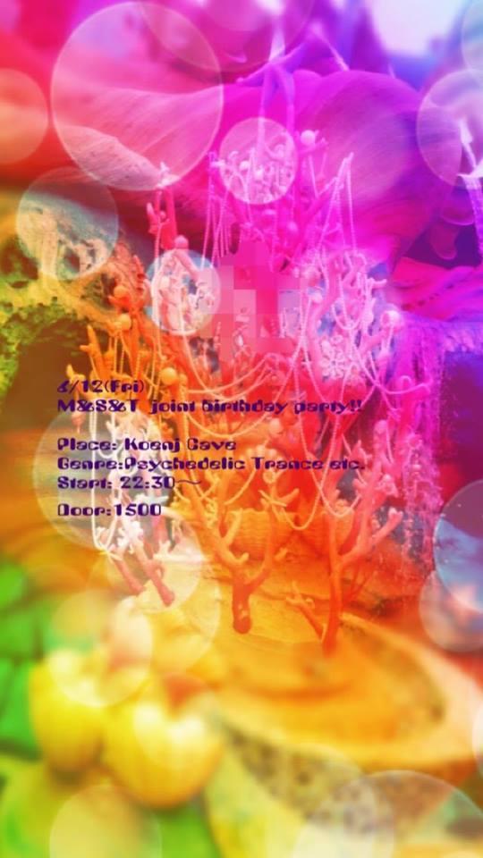 6/12(Fri) M&S&T joint birthday party!!_c0311698_20412417.jpg