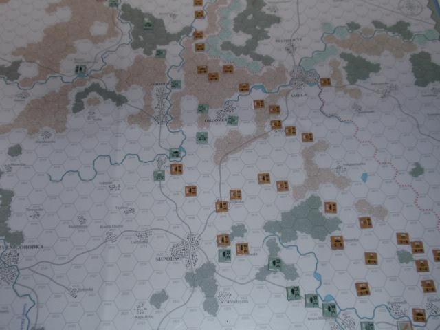 CHS/CMJ「コルスンの戦い」ソロプレイ(2戦目)②_b0162202_17431762.jpg