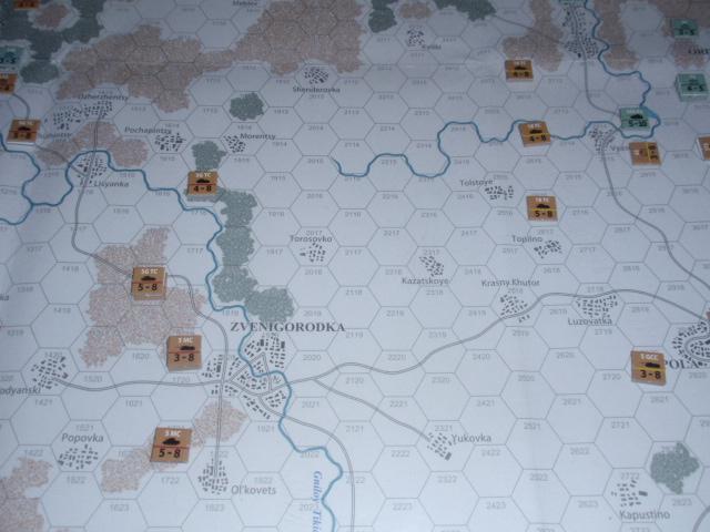 CHS/CMJ「コルスンの戦い」ソロプレイ(2戦目)②_b0162202_17473948.jpg