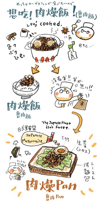 肉燥PAN(ろーざおぱん)_e0022403_1716374.jpg