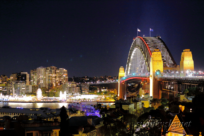 vivid sydney 2015 ~4~ Harbour Bridge_f0084337_10300775.jpg