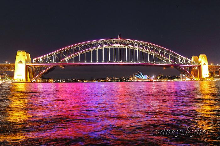 vivid sydney 2015 ~4~ Harbour Bridge_f0084337_10324378.jpg