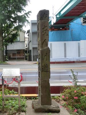 お茶壷道中(甲州街道) 日野の渡し_f0019247_12443038.jpg