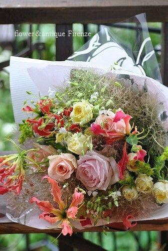 *ご結婚記念日の花束~♪*_e0159050_118333.jpg