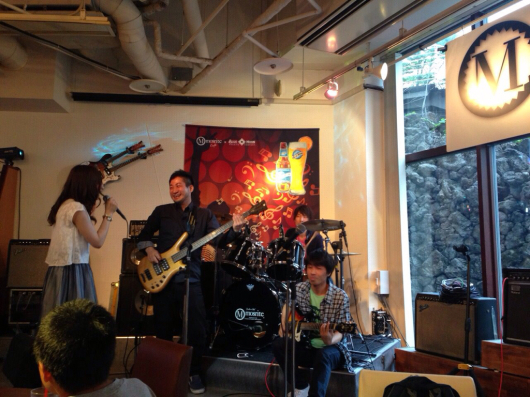 2015/6/12「BEAT ON MUSIC SCHOOL 発表会!」_e0242155_23154076.jpg