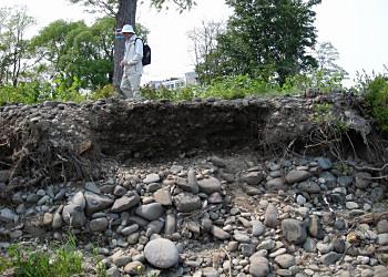 市民地質巡検「札幌の洪水跡を訪ねて」(3)_f0078286_10114210.jpg