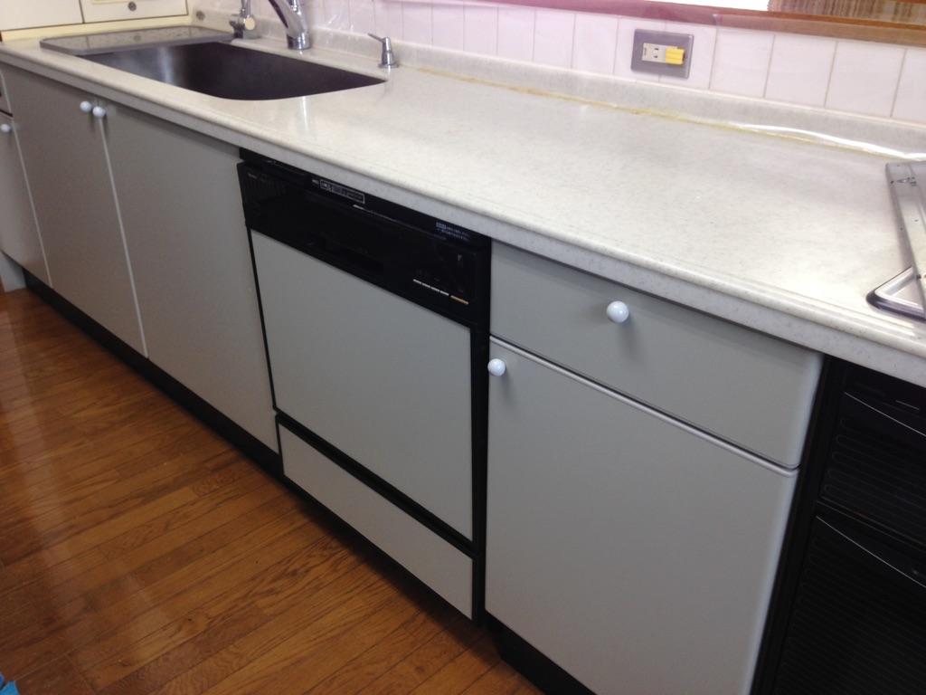 国産食洗機をMiele食洗機に入替_a0155290_1757468.jpg