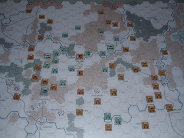 CHS/CMJ「コルスンの戦い」ソロプレイ(2戦目)③_b0162202_1854076.jpg