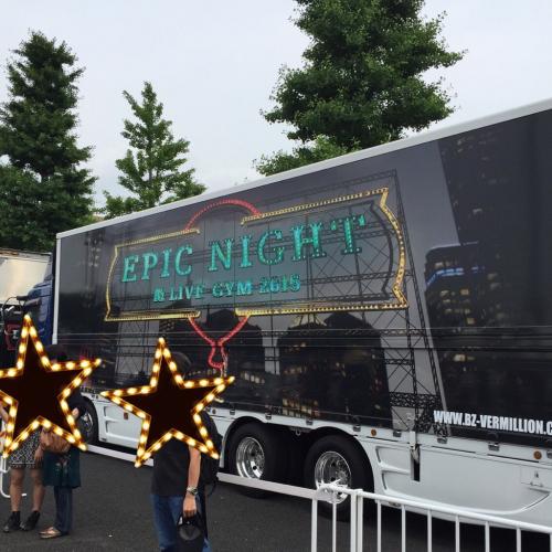 B'z  LIVE-GYM 2015  EPIC NIGHT@味の素スタジアム_d0285416_01304938.jpg
