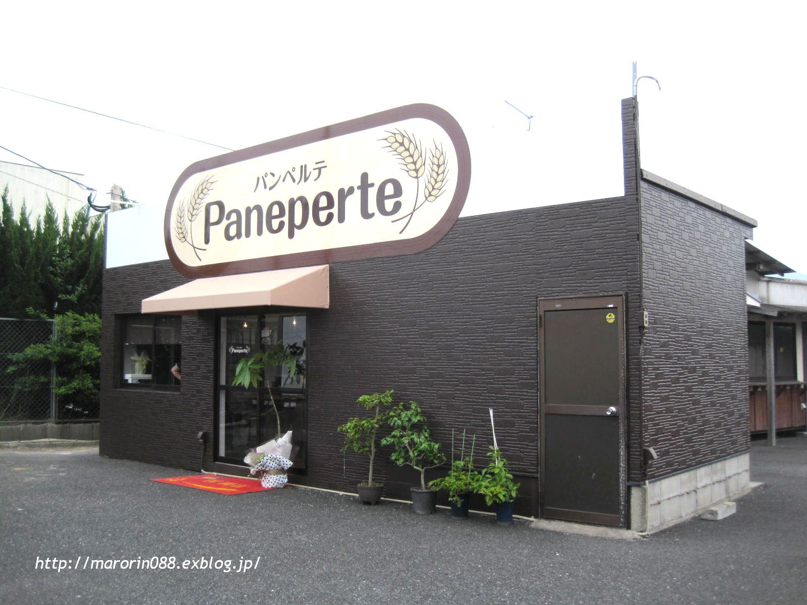 ~最近OPENの小さなパン屋。(パンペルテ)_b0203919_12152433.jpg
