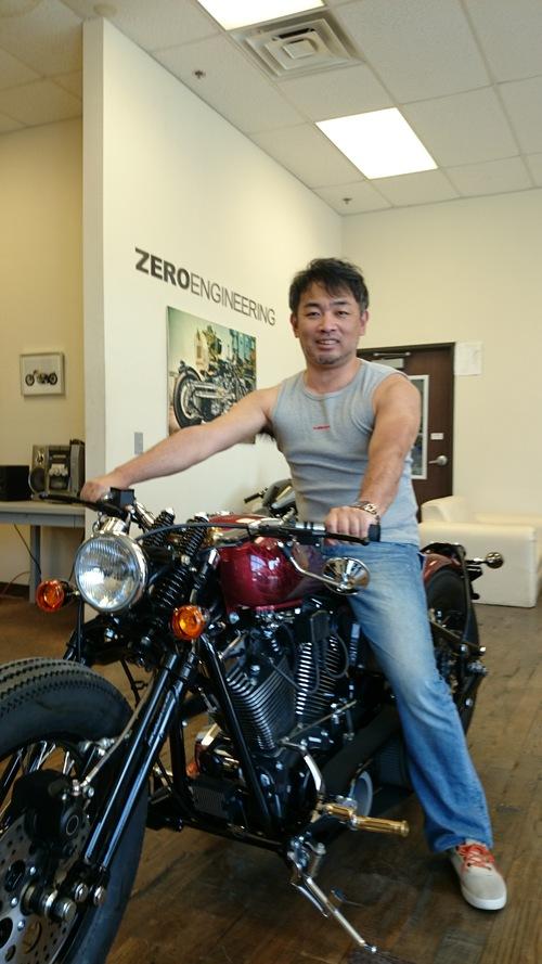 日本第5のバイクメーカーZero Engineering USAさんに行ってきました!_f0088456_14265095.jpg