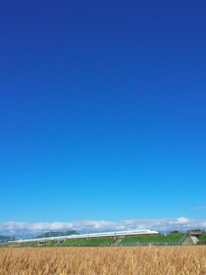 青空と新幹線_f0266284_00470959.jpg