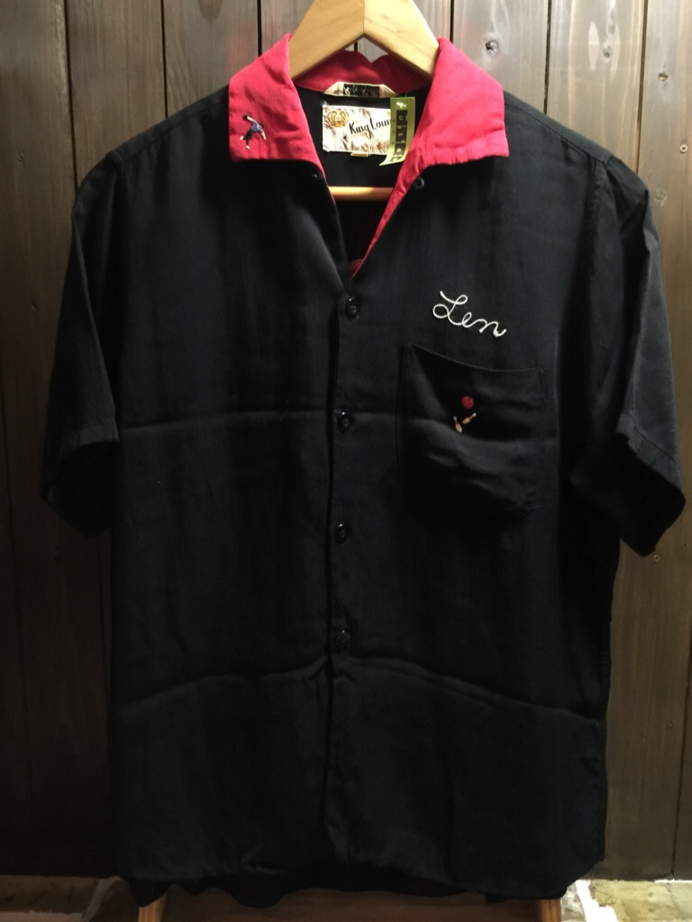 神戸店6/17(水)夏物ヴィンテージ入荷!#1  Bowling Shirt① BlackRayon!(T.W.神戸店)_c0078587_14103817.jpg