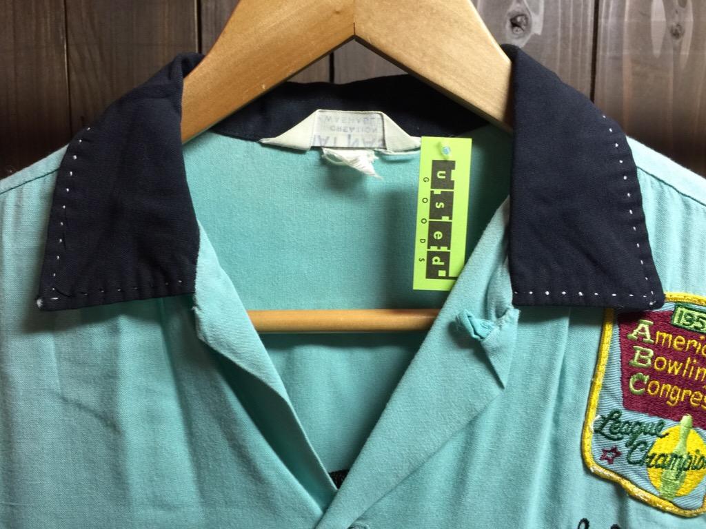 神戸店6/17(水)夏物ヴィンテージ入荷!#1  Bowling Shirt① BlackRayon!(T.W.神戸店)_c0078587_14113627.jpg
